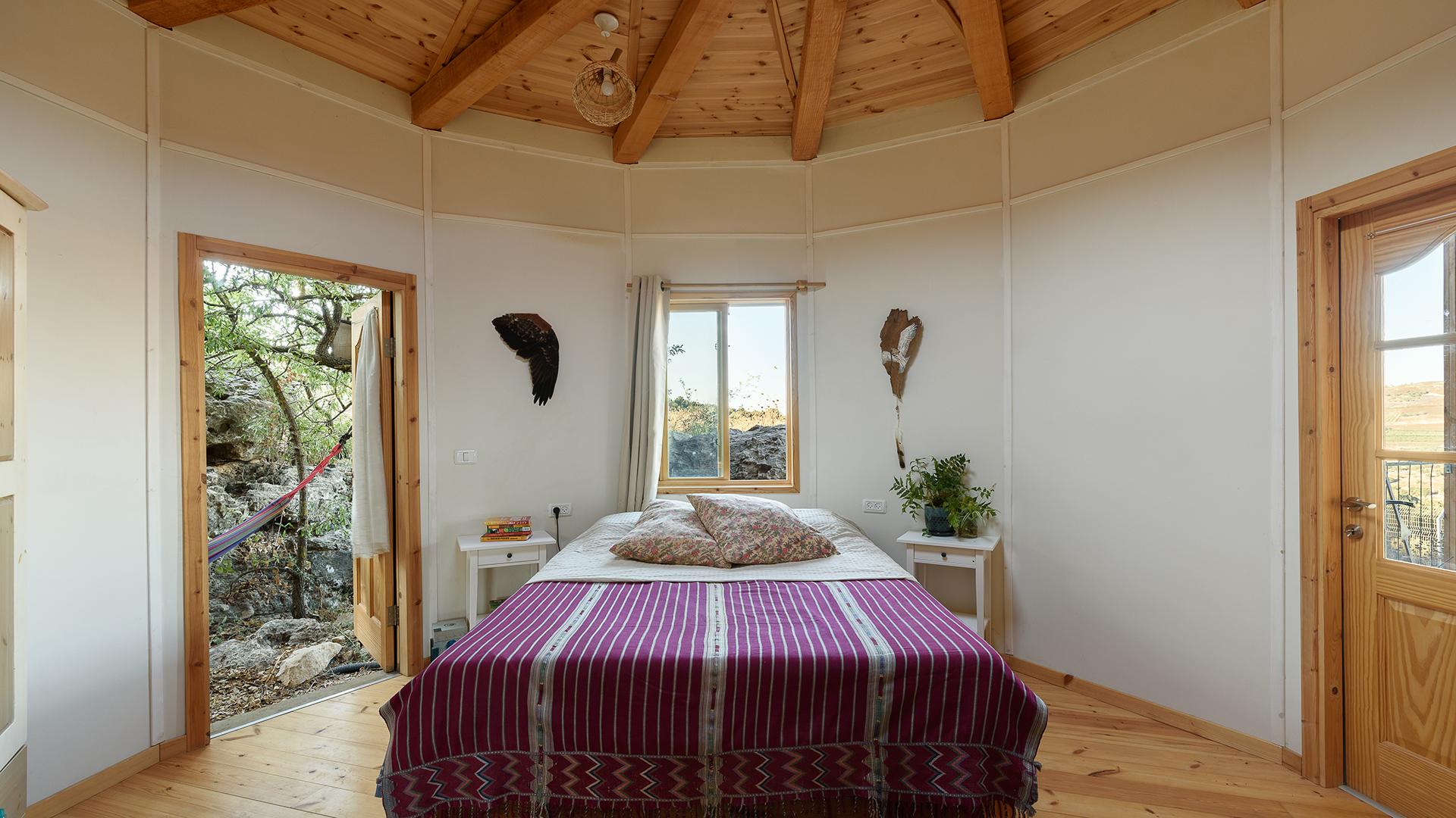 חדר שינה, בקתה מונגולית